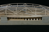 Architectural Model Before Treatment